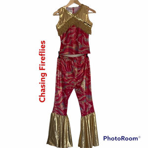 Chasing Fireflies Hippie 70s 02 Pieces Costume 14